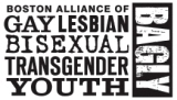 Logo for BAGLY - contact for the local Merrimack Valley alliance of Gay, Lesbian, Bisexual, Transgender Youth