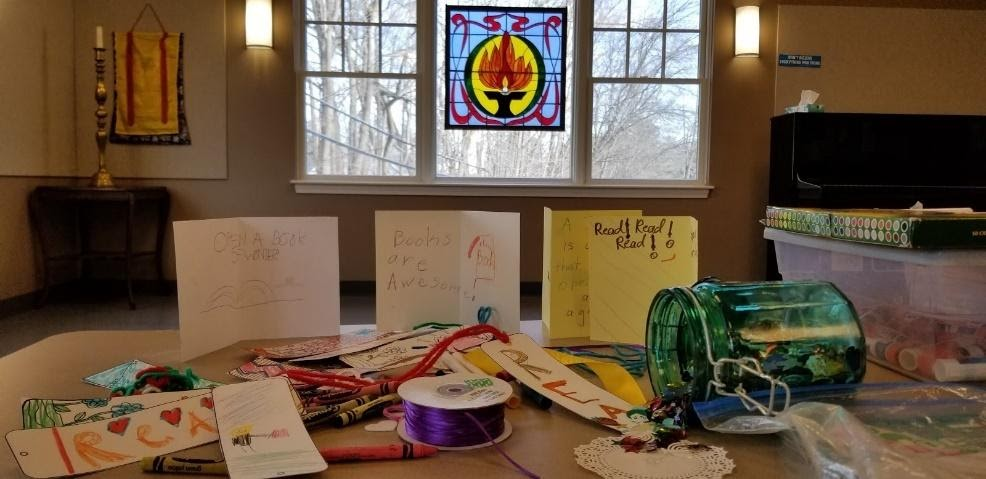 Childrens projects in Chapel