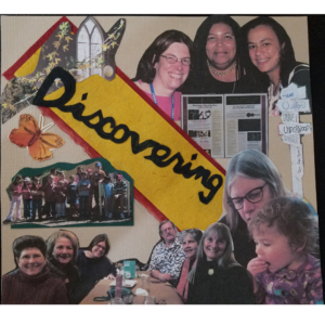 Discovering is the theme - new friends, new interests, new places