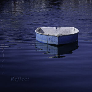 Blue Boat reflection by NP member